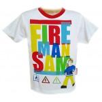 """Marškinėliai """"Fireman Sam"""" nuo 88cm iki 114cm (Prancūzija)"""