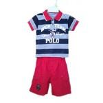Polo marškinėliai su šortais ROYAL nuo 60cm iki 86cm (Prancūzija)