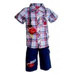 Komplektas: šortai ir marškiniai nuo 86cm iki 126cm (Prancūzija)