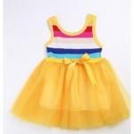 Suknelė su vaivorykštės spalvom nuo 74cm iki 90cm (Kinija)